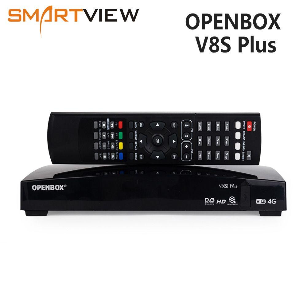 Openbox V8S Ainsi Que Par Satellite décodeur DVB-S2 récepteur Set top box Numérique récepteur Satellite Soutien DVB S2 Xtream Youtube Biss Clés