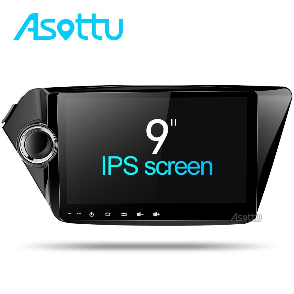 Octa-core android 7.1.2 auto dvd gps navigation 9 zoll für Kia k2 RIO 2010 2011 2012 auto video-player gps auto multimedia player