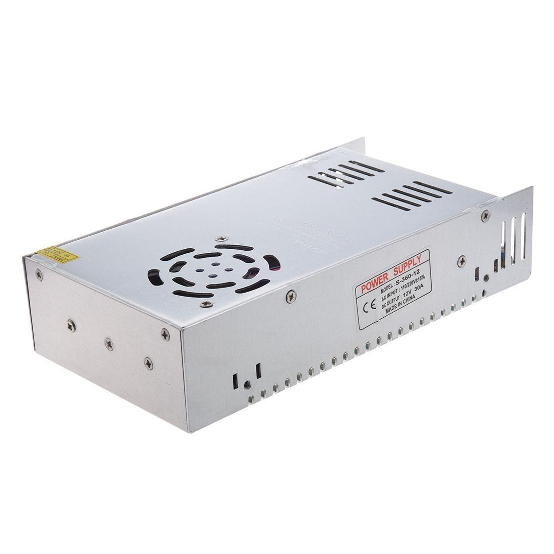 AC 110/220 v DC 12 v 30A 360 watt Schalt Netzteil Konverter für LED Flexable Streifen Licht