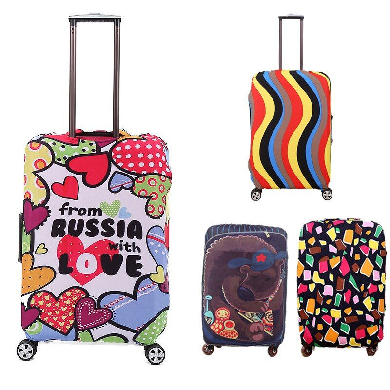 Fashion Travel Suitcase Protective Covers For 18-28inch,Trolley Luggage Accessories Case Cover,Travel Accessories  Z86
