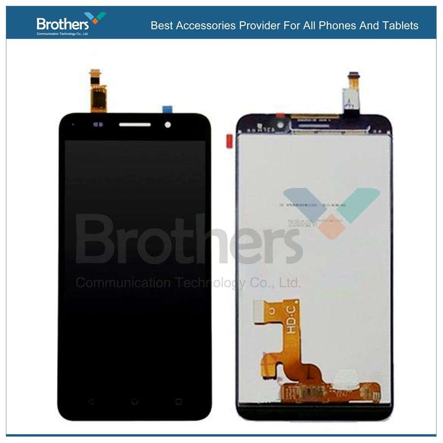Touch Screen For Huawei Honor 4X LCD Dispaly With Assembly Glass Panel Digitizer Black Gold For Huawei Honor 4X LCD Touch Panel
