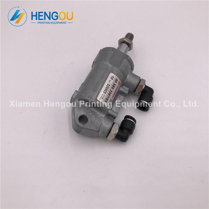 2 Pieces Heidelberg Air Cylinder 00.580.3387 D25 H25 Heidelberg SM102 SM74 SM52 machine cylinder