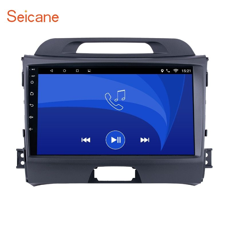 Seicane Android 6.0 Quad-core Car Radio GPS 2Din Multimedia Player For 2010 2011 2012 2013 2014 2015 KIA Sportage with Bluetooth