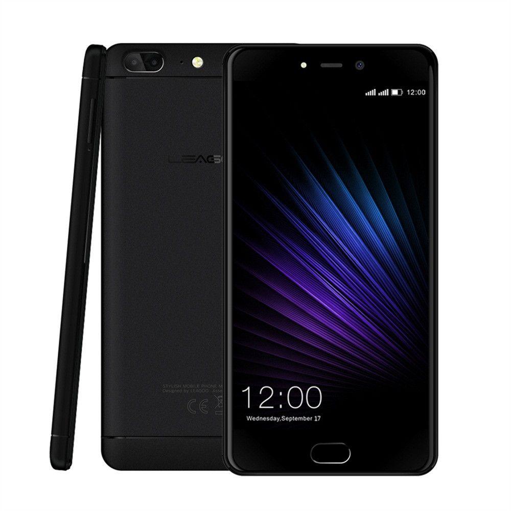 Leagoo T5 MTK6750T Octa Core 4GB+64GB 13MP+13MP+5MP 4G Smart Cell Phone 5.5 inch Apr18