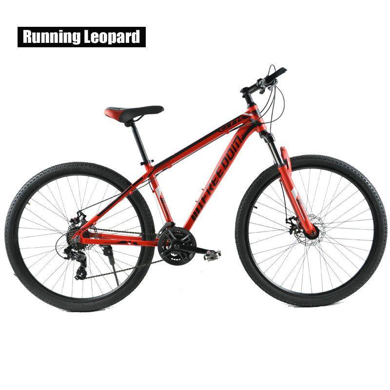 Mountainbike Doppelscheibe 29 Zoll 24 Geschwindigkeit Fahrrad Von Männlichen Und Weiblichen Studenten Aluminiumlegierung Mountainbikes