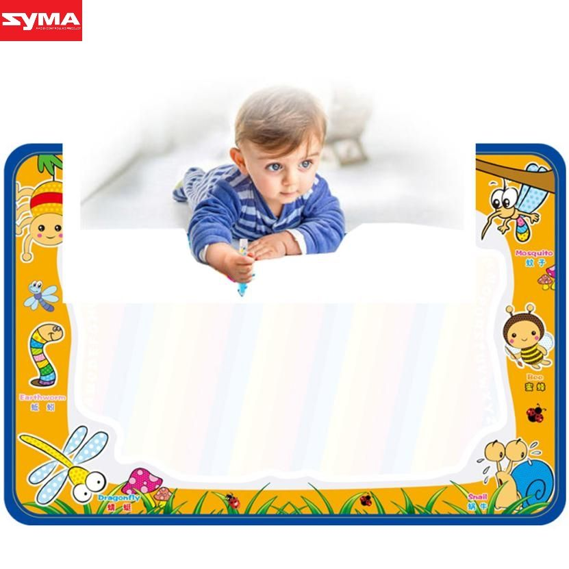 SYMA Drawing toys Water Drawing Painting Writing Mat Board Magic Pen Doodle Gift 50cmX35cm water drawing toys mat dec21