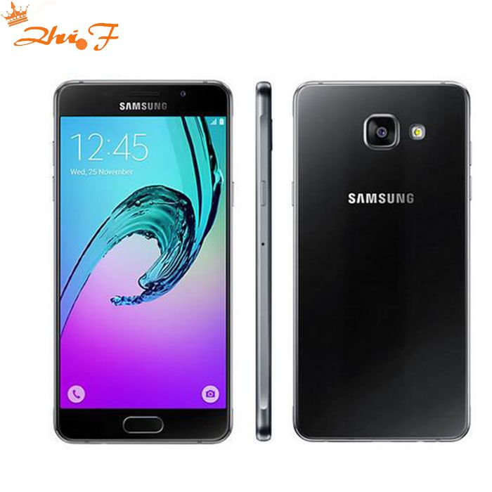 2016 D'origine Samsung Galaxy A5 A5100 Mobile Téléphone 2 gb RAM 16 gb ROM 5.2 pouce Double SIM 4g LTE Octa Core 13MP Caméra Android OS5.1