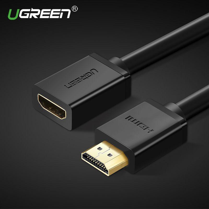 Ugreen HDMI extension câble 4 K * 2 K 3D HDMI mâle à femelle extension pour Ordinateur/HDTV/ordinateur portable/Projecteur dans audio vidéo Câble 5 m