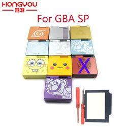 Bande dessinée en Édition Limitée Shell Pleine de Logement de remplacement pour Nintendo Gameboy Advance SP pour GBA SP Jeu Console Cas de Couverture