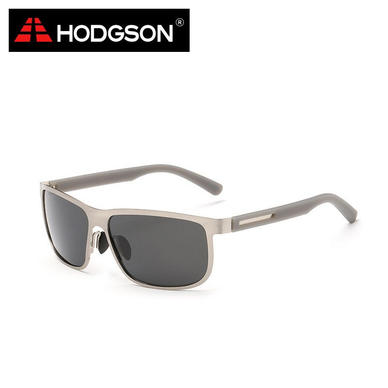HODGSON Brand Men's Fishing Polarized Sunglasses Polarized Fishing Eyewear Silver Fishing Glasses Fishing Accessories