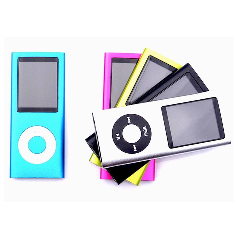 SMILYOU Best Selling Slim MP3 MP4 Music Player 1.8 inch LCD Screen FM Radio Video Player with Earphone 9 Color no memory