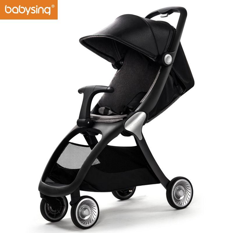 Babysing K-GO Luxury Strollers All Season Travel Light Umbrella Car Stroller Foldable Baby Carriage Brand Pram Pushchair