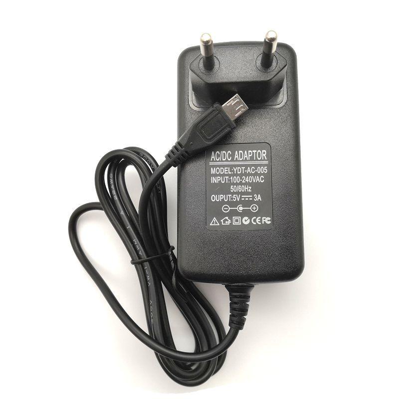 5 V 3A Micro USB chargeur alimentation pour tablette PC V975m V973 X98 Air 3G pro Hi10 plus Hi12 Microsoft Surface 3 EZpad mini 4 S