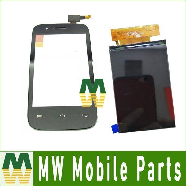 1PC/ Lot For  Explay N1 Seperate Touch Screen Digitizer And Lcd Screen Replacement Part Black Color