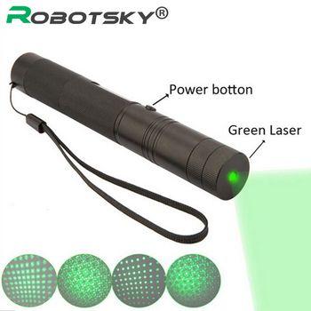 Лазерная указка ручка регулируемый фокус горит матч Досуг 303 keyed для 10000-500 м зеленый лазер (не входит в комплект батареи)
