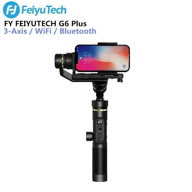 FY FEIYUTECH G6 Plus Handheld Gimbal Stabilizer 3-axis WIFI Bluetooth OLED Screen for Action Camera Digital Cameras Smartphones