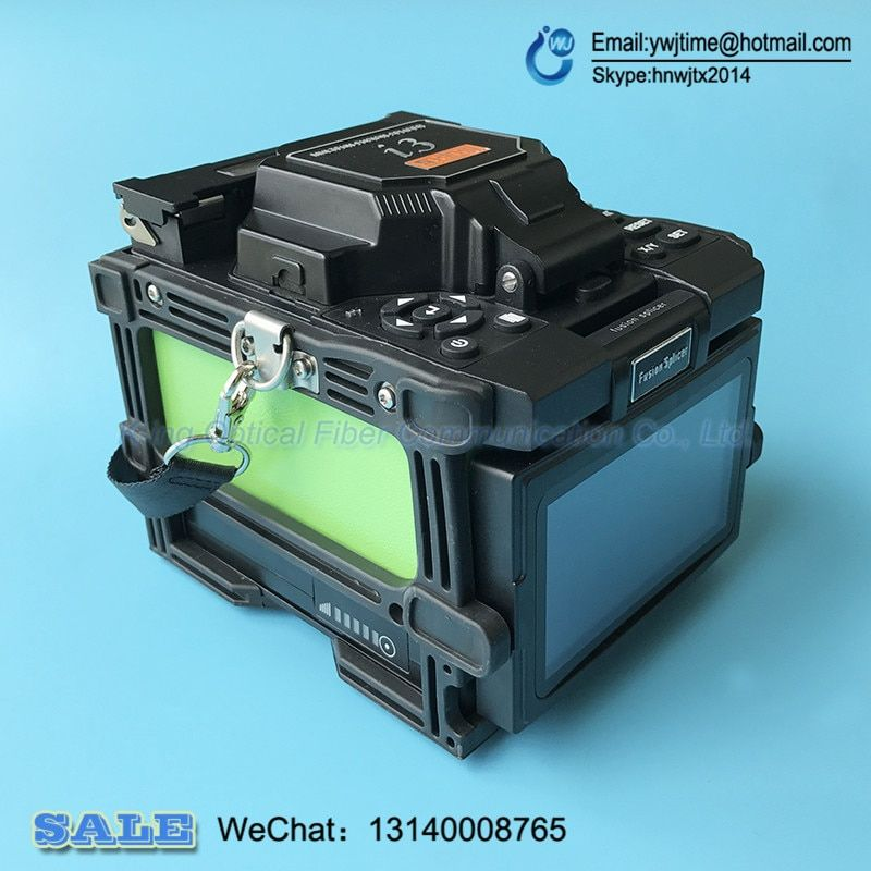 I3 Core Alignment Automatic Optical Fiber FTTH Fusion Splicer Fiber Optic Splicing Machine