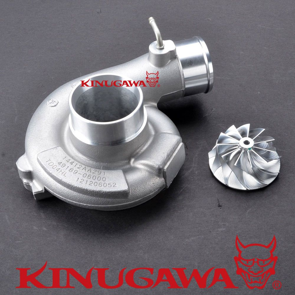 Kinugawa Turbo Kompressor Kit 11 + 0 Billet Rad für SUBARU TD04L 20 T