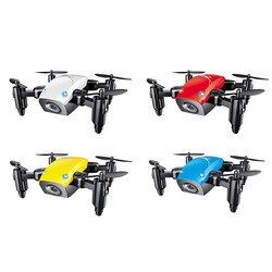 S9HW Mini Drone With Camera S9 No Camera RC Helicopter Foldable Drones Altitude Hold RC Quadcopter WiFi FPV Pocket Dron