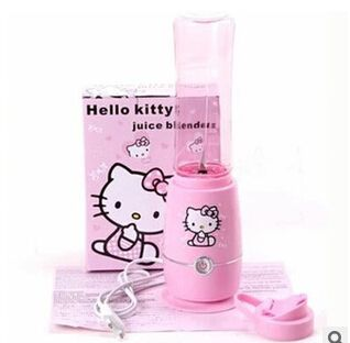juicer blender liquidificador cute Hello Kitty healthy electric juice machine mixer fruit extractor grinder meat squeezer shake