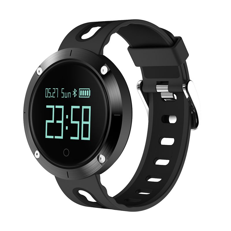 DM58 Smart Bracelet IP67 Waterproof Blood Pressure Heart Rate Monitor Call Reminder Sports Smart Band PK DM68 GT08 DZ09 #C4