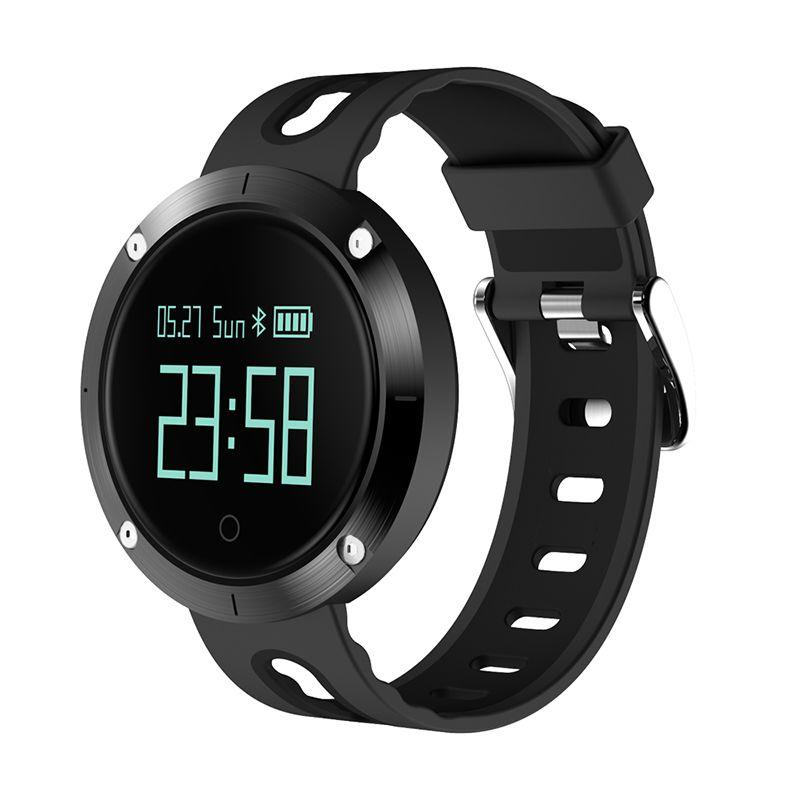 DM58 Smart Bracelet IP67 Waterproof Blood Pressure Heart Rate Monitor Call Reminder Sports Smart Band PK DM68 GT08 DZ09 #C4
