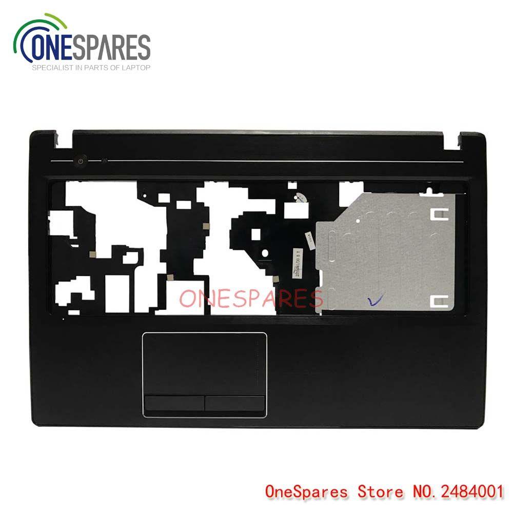 Новый ноутбук ЖК-дисплей тачпад с упором для ладоней крышка сверху чехол для lenovo IdeaPad G580 серии верхний регистр AM0N2000100 C Shell
