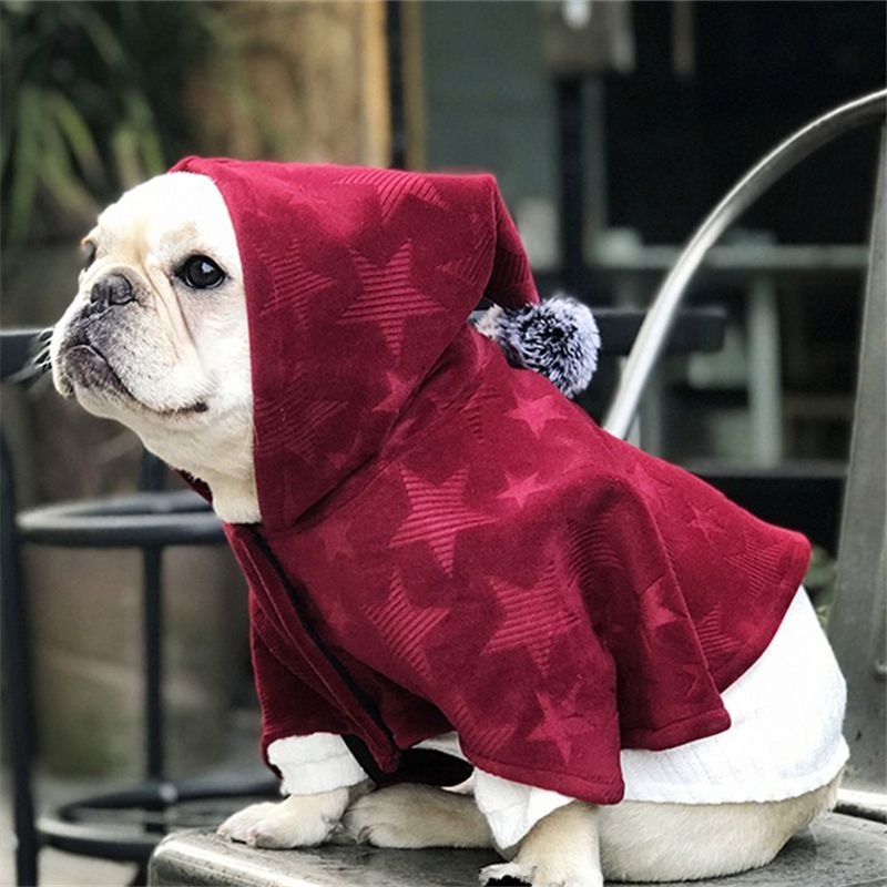 Pets Product Wizard Style French Bull Dog Wear Puppy Cats Clothes Cloak