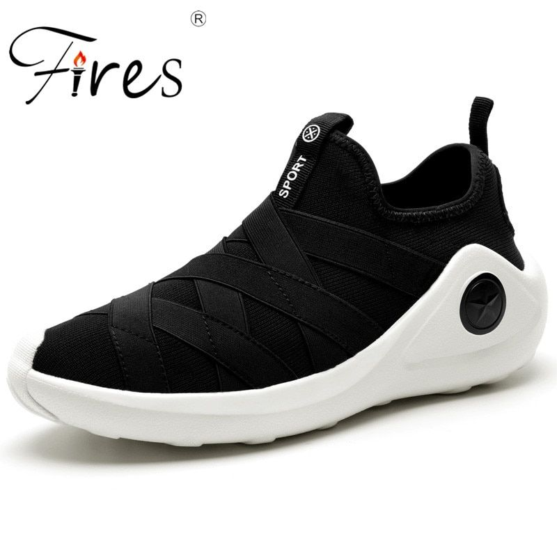 Fires Male Running Shoes Summer Breathable Sneakers Outdor Walking Shoes Men Comfortable Wear-resistant Shoes Sports Shoes
