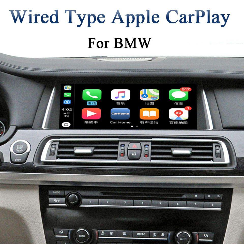 Android Auto CarPlay Apps für BMW NBT Serie 5 F10/F11 2012-2017 Autos Hinzufügen Aftermarket Rückansicht kamera