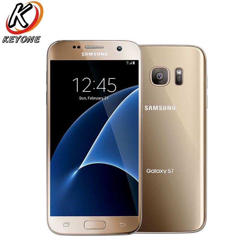 Original T-Mobile Version Samsung Galaxy S7 G930T 4g LTE Handy 5,1 4 gb RAM 32 gb ROM Quad Core NFC 12MP Kamera Handy