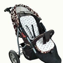 Cojín acolchado multifunción para bebé, asiento acolchado para cochecito de bebé, funda para almohada de cama de bebé, accesorios para cochecitos