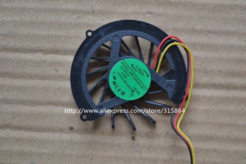 New ADDA AB7205HX-GC1 LAPTOP CPU FAN FOR ACER Aspire 4535 4535G 4540G