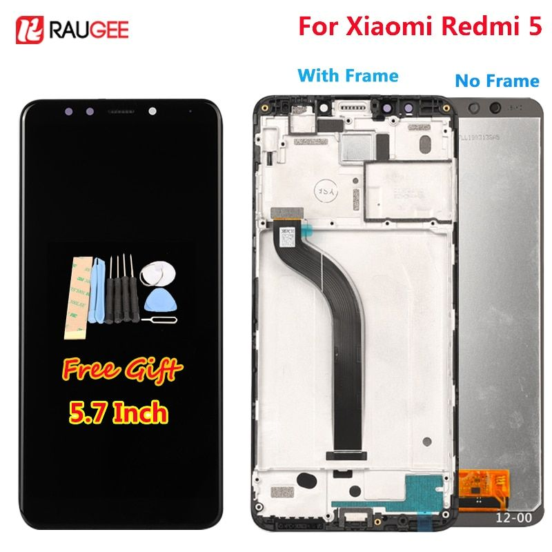 For Xiaomi Redmi 5 LCD Display +Touch Screen 5.7 Inch Test well New Digitizer Assembly Replacement Screen For Xiaomi Redmi 5