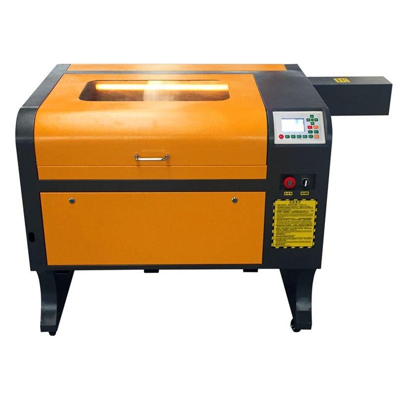 Co2 ruida linie-off arbeits 4060 80 watt l acryl leder holz glas kristall laser gravur schneiden maschine CO2 laser