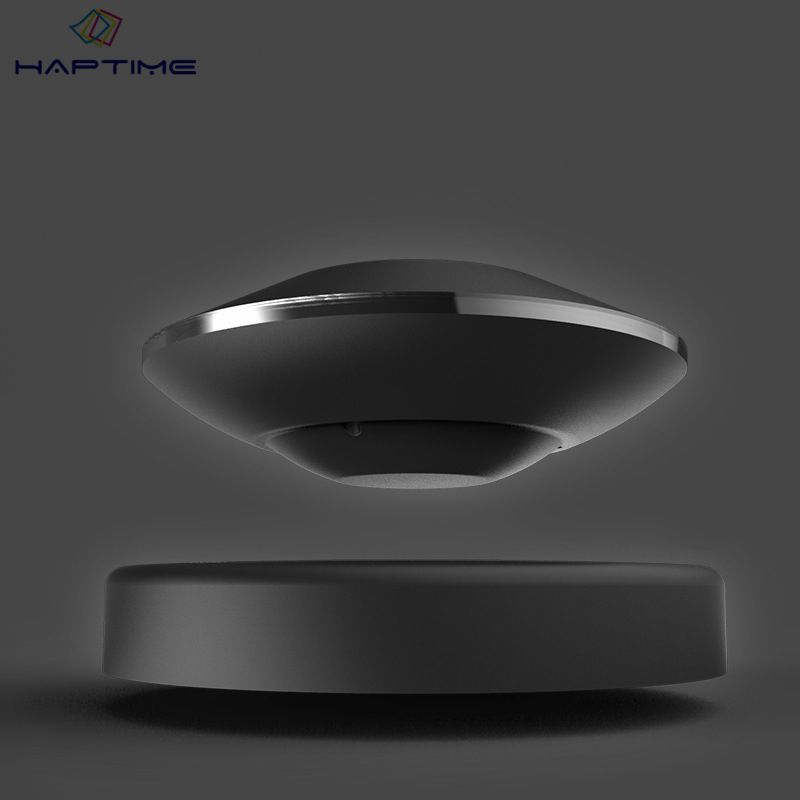 Haptime Supergravity Magnetic Levitation Bluetooth Speaker USB Wireless Bluetooth Maglev Speaker Levitation Rotating Speaker