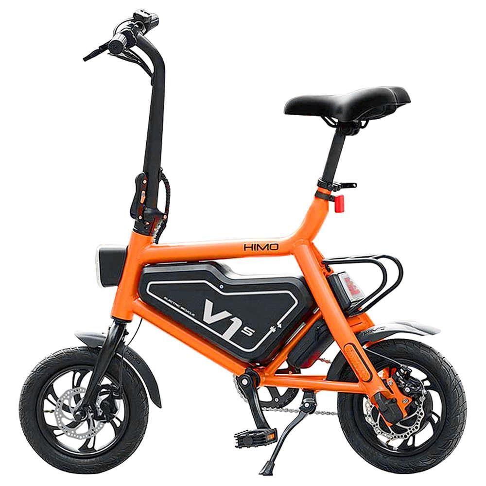 Aktualisiert Version Xiaomi HIMO V1S Tragbare Falten Elektro-bike 20 km/h Smart Fahrrad 7.8AH ebike Outdoor Xiaomi Elektrische roller