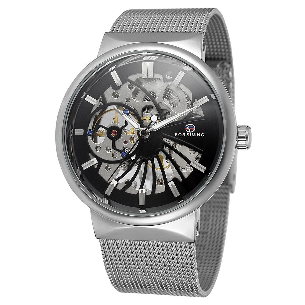 Women New Fashion Watch Stainless Steel Unisex Concise Casual Luxury Business Wristwatch