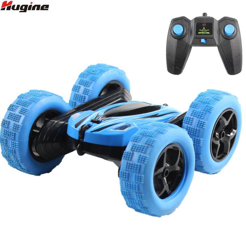 Hugine RC voiture 2.4G 4CH cascade déformation Buggy voiture roche chenille rouleau voiture 360 degrés Flip enfants Robot RC voitures jouets pour cadeaux