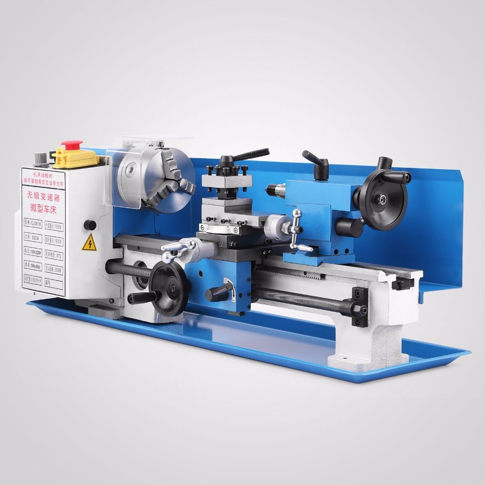 Mini Metall Drehmaschine Metallbearbeitung Werkzeug Bohren Fräsen Cutter Hohe Präzision 0618 modell