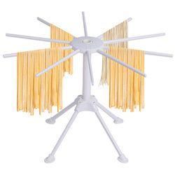 KOK Dilipat Pengeringan Rak Pasta Spaghetti Pengering Berdiri Pemegang Gantung Rak Pengeringan Pasta Mie Memasak Alat Alat Dapur