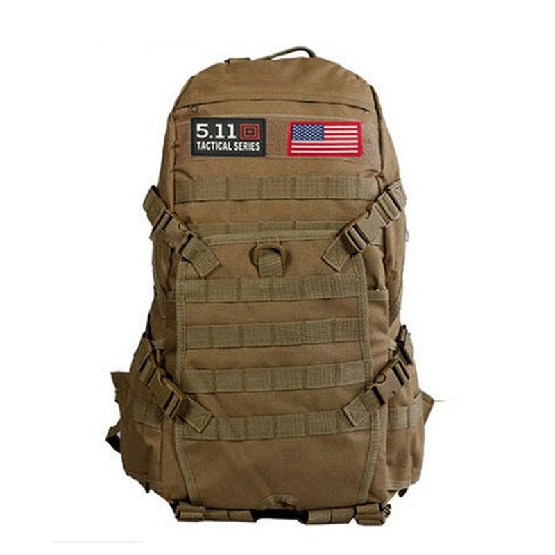 Hot Sale!!! TAD Men Military Backpack Molle Camouflage Travel Bags 40L Waterproof Nylon Bags Multi-function Laptop Backpack