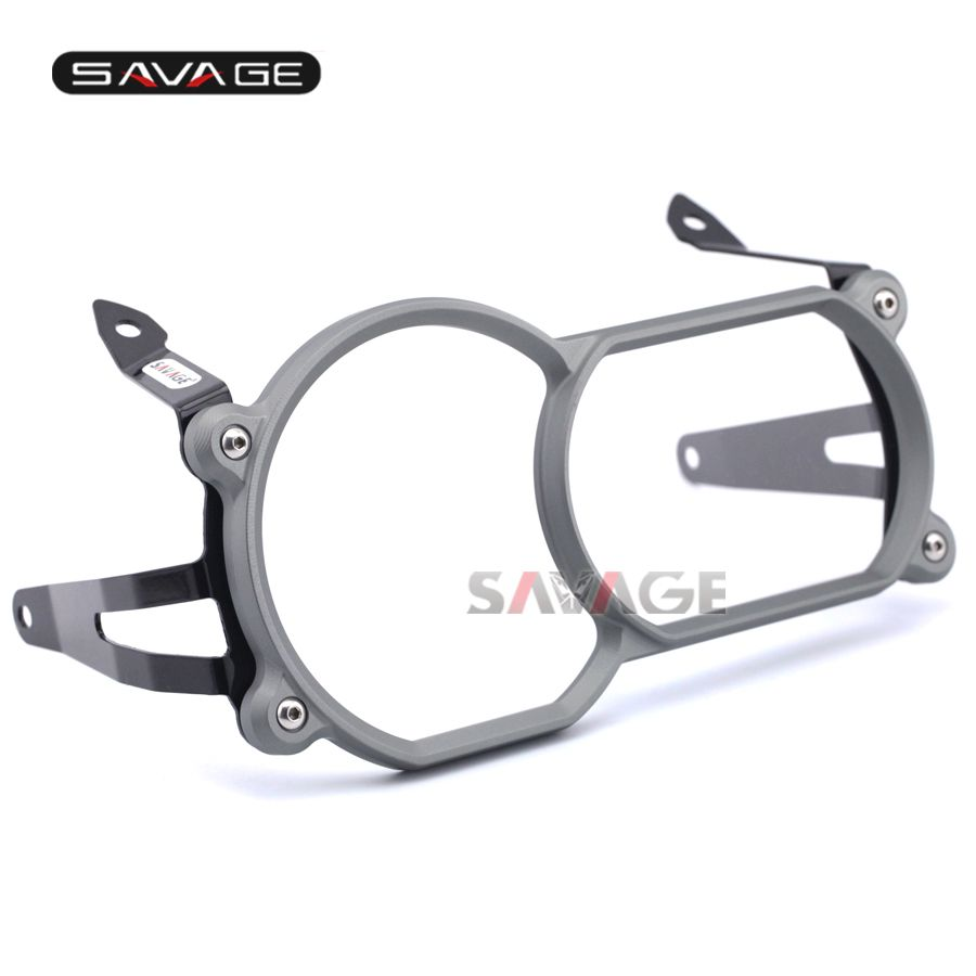 Headlight Protector Guard Cover With Quick Release Fastener Titanium For BMW R1200GS LC 13-17/ R1200GS LC Adventure 14-17