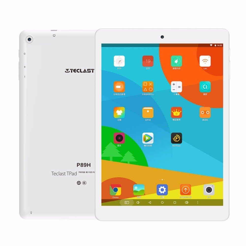 Original 7,85 zoll Teclast P89H tabletten MTK8163 Quad Core A53 1 GB/16 GB Android 6.0 günstige PC Tablet Unterstützung GPS Dual Band WiFi