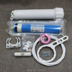 Free Shipping 75gpd Vontron RO Membrane + 1812 RO Membrane Housing + Reverse Osmosis Water Filter System Parts