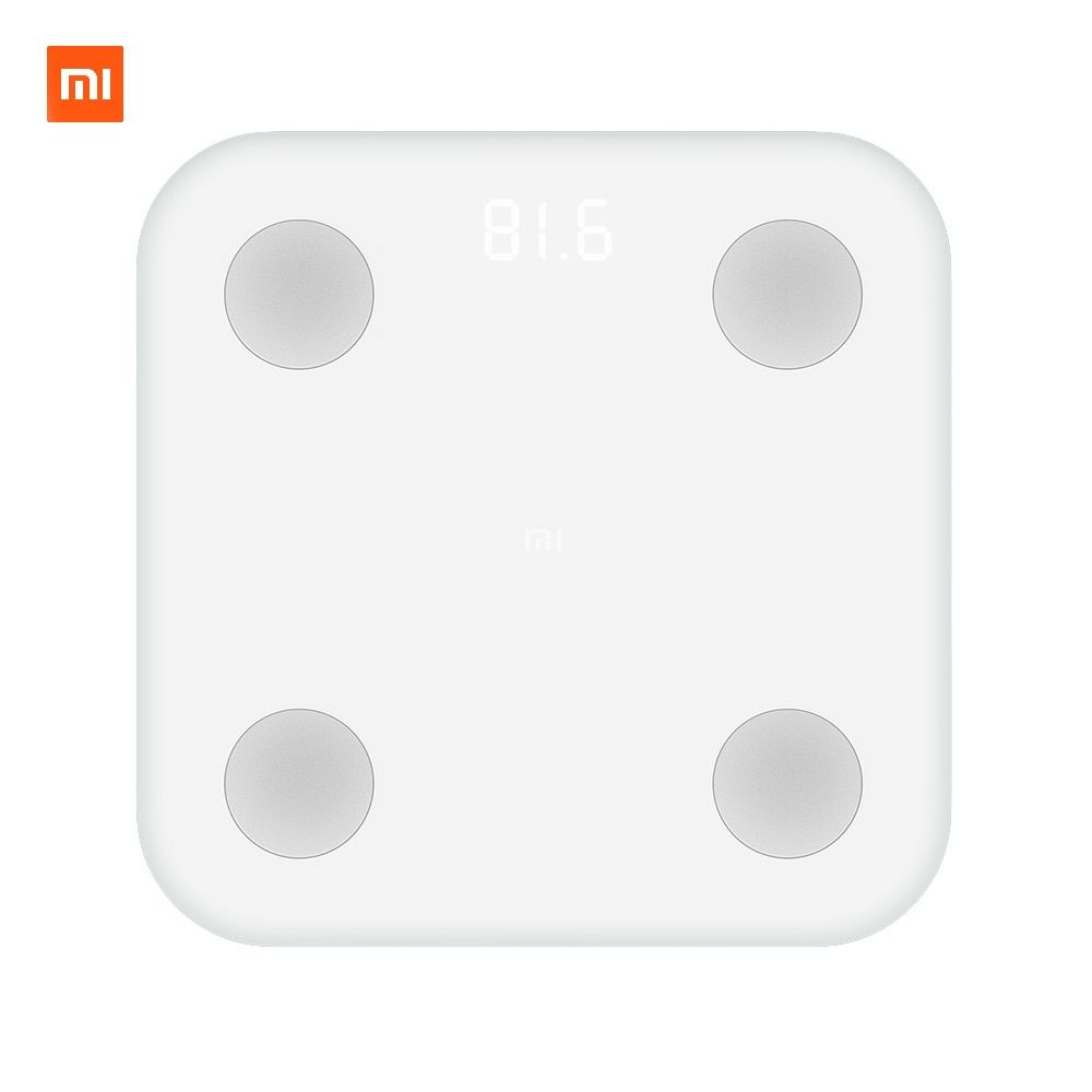 Xiaomi Mi Smart Composition <font><b>Scale</b></font> 2 Weight Health Mifit APP Body Monitor Hidden LED Display And Big Feet Pad Body Fat BMR Test