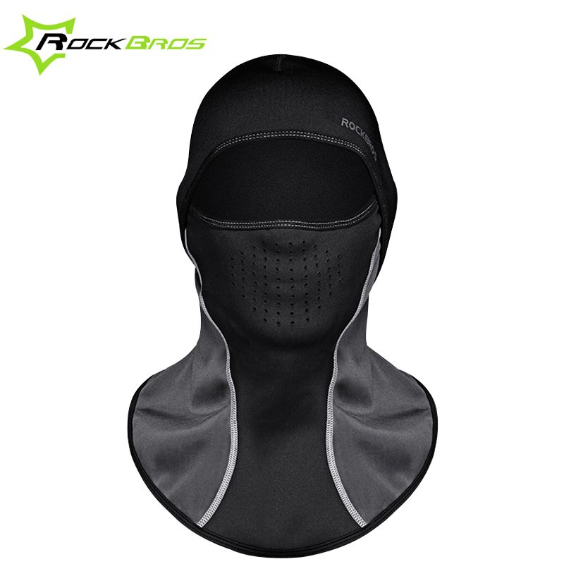 ROCKBROS Winter Face Mask Cap Thermal Fleece Ski Mask Face Snowboard Shield Hat <font><b>Cold</b></font> Headwear Cycling Face Mask Fiter Scarf