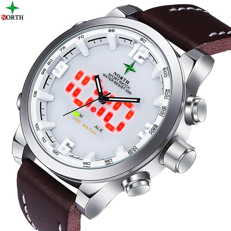 LED Digital Watch Running LCD Wristwatch Waches Men Analog Digital-Watch Men Quartz Watch Sports <font><b>Reloj</b></font> Hombre Men Sport Watch