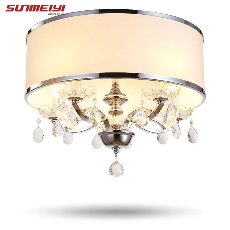Modern crystal chandelier K9 crystal 110~240V lustres de cristal chandelier for living room or bedroom lighting lustre para sala