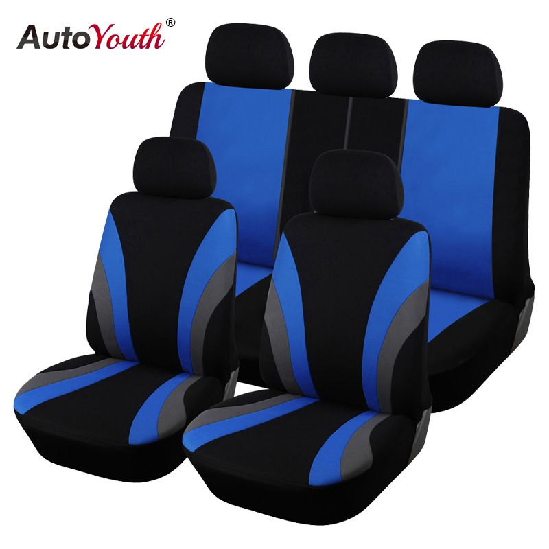 Classic Car Seat Covers Universal Fit Most SUV Truck Car Seat Protector Car Styling 3 Color Seat Cover